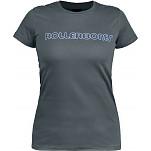 Rollerbones Woman's Neon T-shirt Asphalt