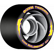 Rollerbones Turbo Bonnie Thunders Signature Rollerskate Wheel 62mm 92A Black 8pk