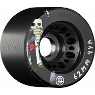 Rollerbones Day of the Dead Speed wheel 62mm x 94a black 4 Pk