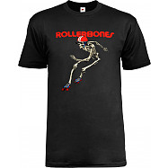 Rollerbones Men's Derby T-shirt Black