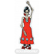 Rollerbones Sticker DOD Girl Dancing Sticker single