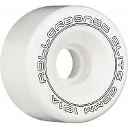 Rollerbones Art Elite Competition Wheels 62mm 101A 8pk White