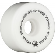 Rollerbones Team Logo 62mm 101A 8pk White