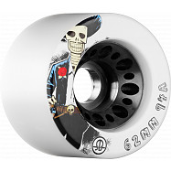 Rollerbones Day pf the Dead Speed wheel 62mm x94a White 4 Pk