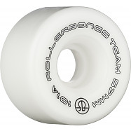 Rollerbones Team Logo 57mm 101A 8pk White