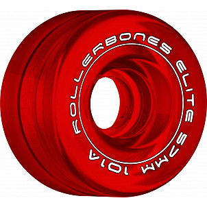 Rollerbones Art Elite Competition Wheels 57mm 101A 8pk Red