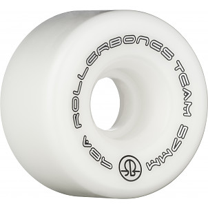 Rollerbones Team Logo 57mm 98A 8pk White