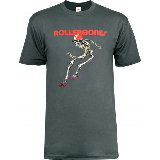 Rollerbones Men's Derby T-shirt Asphalt