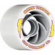 Rollerbones Turbo Bonnie Thunders Signature Rollerskate Wheel 62mm 96A White 8pk