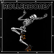 RollerBones Skating Skeleton Banner