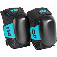 TSG Force III A (arti-Lidge) Knee Pads Black with an Aqua trim